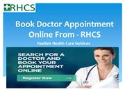 Book Doctor Appointment Online From - RHCS