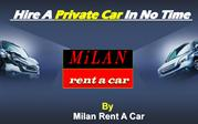 Hire a  private car in no time  - Milan Rent A Car