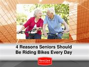 4 Reasons Seniors Should Be Riding Bikes Every Day