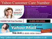 quick solution call now Yahoo Customer Care Number 0-800-404-9463