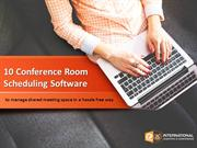 Conference Room Scheduling Softwares