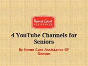 4 YouTube Channels for Seniors