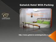 hotel and parking at gatwick- gatwick hotels and parking- gatwickcambr