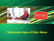 7 Noticeable Signs of Elder Abuse