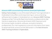 Amazon AWS course training institute Ameerpet Hyderabad