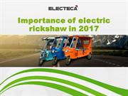Importance of electric rickshaw in 2017