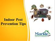 Indoor Pest Prevention Tips