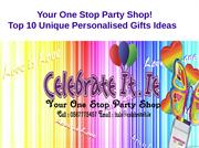 Top 10 Unique Personalised Gifts Ideas