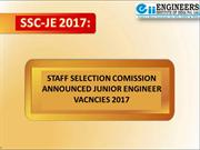 SSC-JE Coaching And Complete Information - Eii