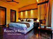 Resorts in Kerala | Kerala Resorts| Luxury Resorts
