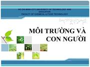 MOI TRUONG VA CON NGUOI HO CHI MINH CITY UNIVERSITY OF TECHNOLOGY AND