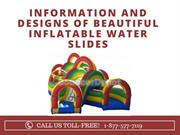 Information and Designs of Beautiful Inflatable Water Slides