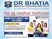 Dbmci gives sheurity to clear all pg entrance exam.