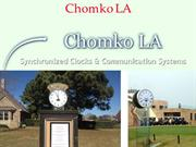 Find best Chomko LA Wi-Fi Clocks