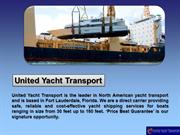 Services United Yacht Transport Offers