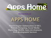 Apps Home