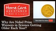 Why Are Nobel Prize Winners in Science Getting