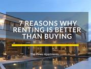 7 Reasons Why Renting is Better Than Buying