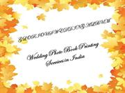 Wedding Photo Book Printing Services in India