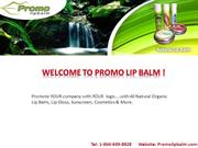 Natural Lip Balm Beauty Products - Promo Lip Balm