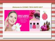 Welcome to COSMO TECH EXPO 2017