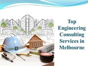Top Engineering Consulting Services in Melbourne