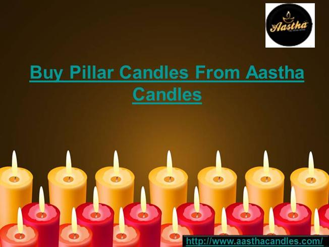 f96da1b66e3e4c Pillar Candles Online India - Aastha Candles