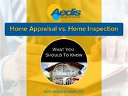Home Inspections Vs House Appraisals in Toronto