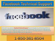 Are you on the lookout for Facebook Tech Support 1-850-361-8504?
