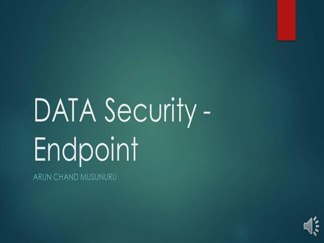 Endpoint Security Ppt |authorSTREAM