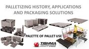 Palette of Pallet use by Tishma Technologies