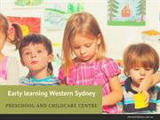 Early Learning Western Sydney Numeral Approach- Sorting to Measuring