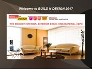 Welcome to BUILD N DESIGN 2017