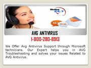 Avg Phone Number USA 1-800-280-8913