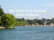 The 4 Most Scenic Running Routes in Boston