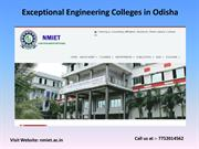 Exceptional Engineering colleges in Odisha