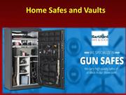 Home Safes and Vaults