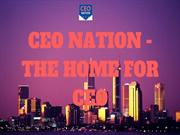 CEO NATION- The Home for the CEO
