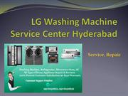 LG Washing Machine Service Center Hyderabad