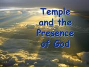 Temple and the Presence of God-Session 2