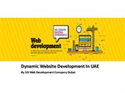 Dynamic Website Development In UAE