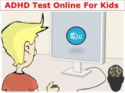ADHD Test Online For Kids