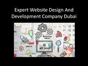 Expert Website Design And Development Company Dubai
