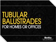 Tubular Balustrades For Homes Or Offices