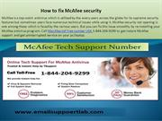 1-844-204-9299 MacAfee toll free number USA