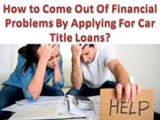 Fast and instant way to get rid of bad credit car loans in Brampton