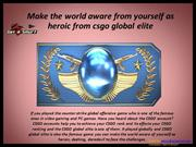 Make the world aware from yourself as heroic from csgo global elite