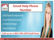 Gmail Help Phone Number 1-855-490-2999 help to Optimize Gmail setting