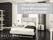 Canadian Furniture Store Mississauga - IConic Furniture