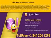 1-844-204-9299 Yahoo customer support number USA
